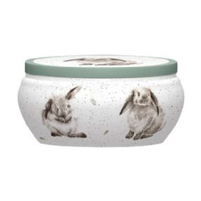 Royal Worcester Wrendale Rosie Rabbit Boutique Candle Tin